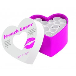 "French Lover ""Mini Corps A Coeur"""