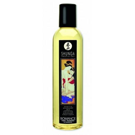 """Huile Massage """"Romance / Vin Pétillant Fraise 250 ml"""""""