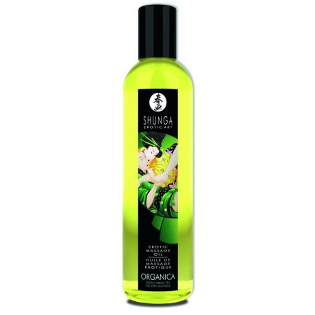 """Huile Massage """"Organique / Thé Vert 250 ml"""""""