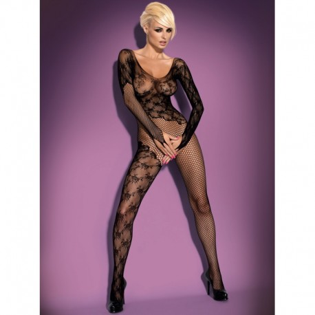 F210 bodystocking black