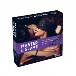 "Coffret ""Master Slave Purple Premium KIT BDSM"""