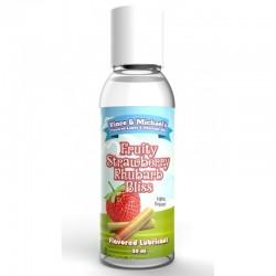 "Lubrifiant ""VM Saveur Fraise Rhubarbe 50 ml"""