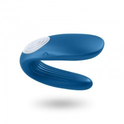 Stimulateur vibromasseur Satisfyer Partner Whale - Bleu