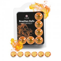 6 Brazilian Balls Hot Effect 3575-1