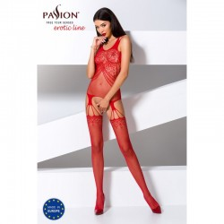 "Bodystocking ""BS070R Red"""