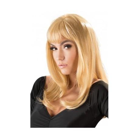 "Perruque Blonde ""Mi-Longue"""