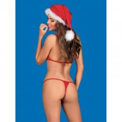 "Bonnet ""Noël Santastic Red"""